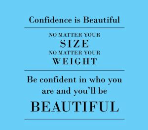 confidence-beautiful-size-weight-large